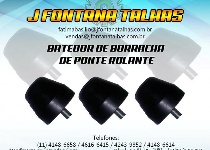 Batedor de Borracha para Ponte Rolante J FONTANA TALHAS