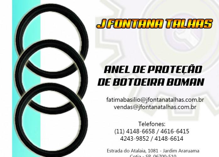 Anel emborrachado Boman anel de proteção para botoeira boman de comando direto.