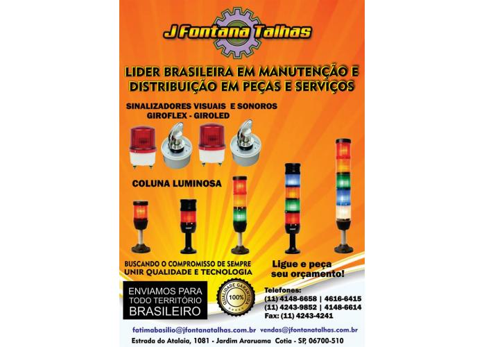 Sinalizadores Visuais e Sonoros, Coluna Luminosa e Giroflex, Giroled MF