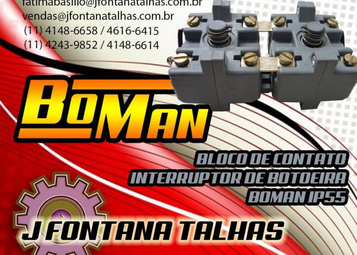 Bloco de Contato de Botoeira Boman