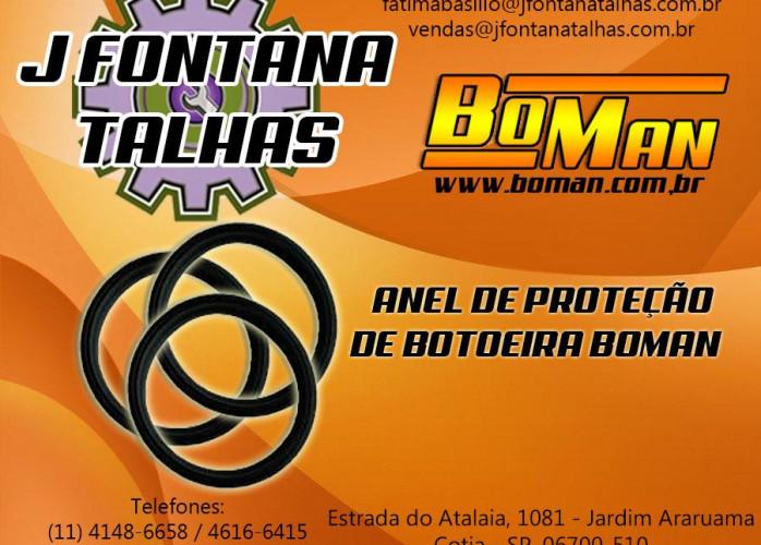 ANEL DE PROTEÇÃO DE BORRACHA PARA BOTOEIRA DE MARCA BOMAN