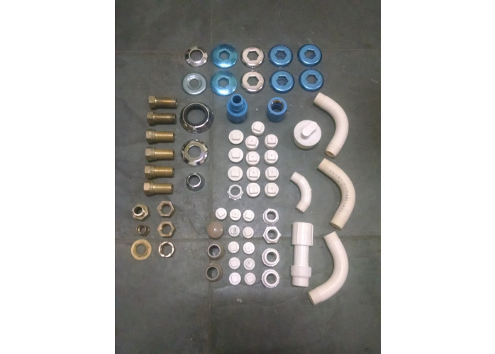 Materiais de construção pias, metais, pisos, portas, elétrica, pintura, ferramentas, tubos e conexões novos