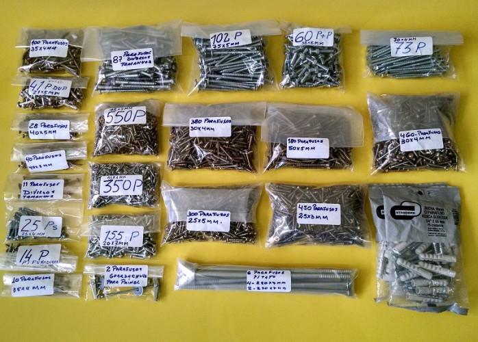 Ferragens para marcenaria lote novos de corrediças telescópicas, puxadores, dobradiças etc