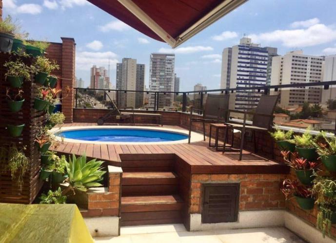 Linda cobertura com 170m² - 2 suites - 3 vagas