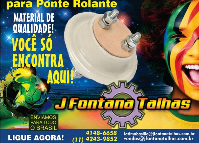 Isolador de Porcelana para Ponte Rolante