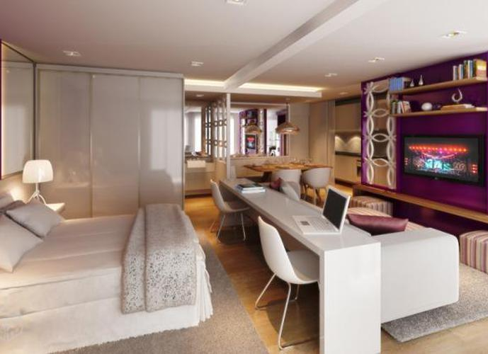 Apartamento em Pompéia/SP de 57m² 1 quartos para locação R$ 2.500,00/mes