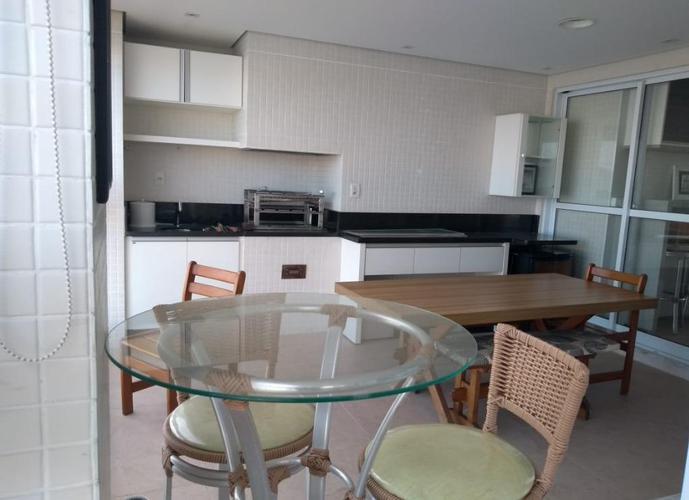 Apartamento em Ponta Da Praia/SP de 180m² 4 quartos para locação R$ 6.500,00/mes