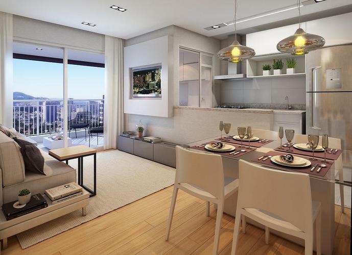 Apartamento em Vila Anastácio/SP de 62m² 2 quartos a venda por R$ 522.740,00