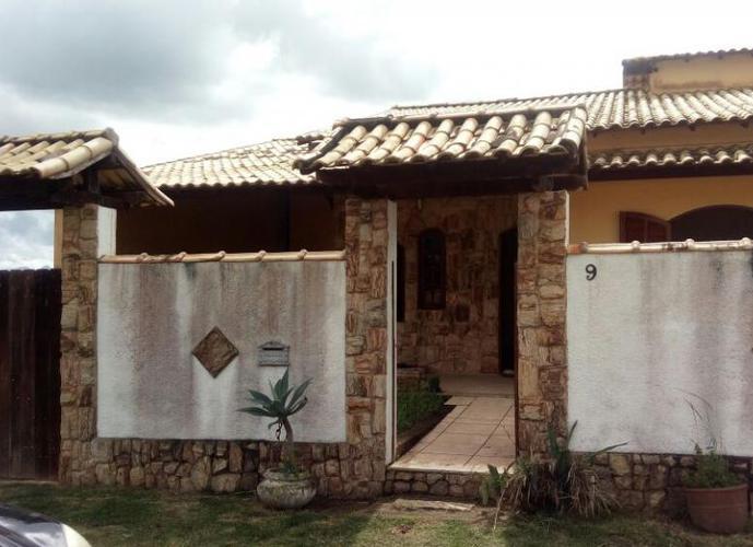Bela Casa Linear 3 Quartos - Green Village (Ext.Serramar) - Casa em Condomínio para Locação no bairro Extenção Serramar - Rio Das Ostras, RJ - Ref: IN93438
