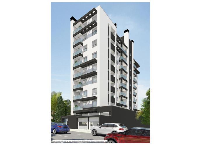 Aloha Residence - Apartamento a Venda no bairro Nossa Senhora De Lourdes - Caxias do Sul, RS - Ref: WI66