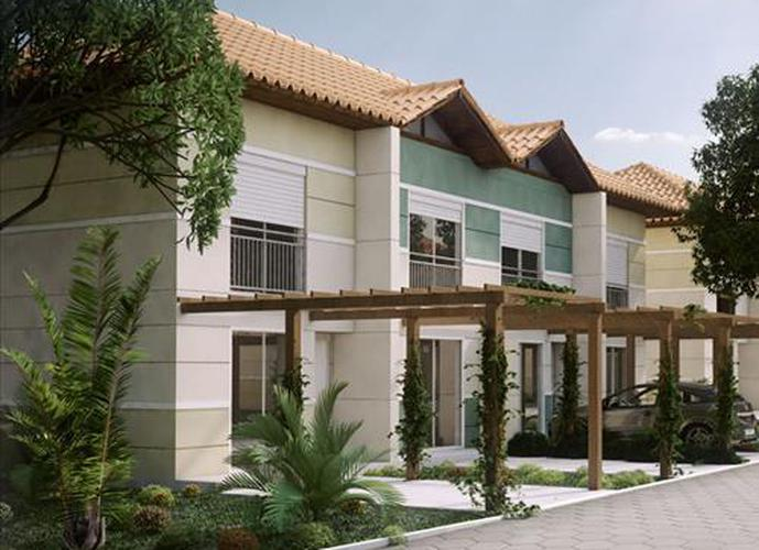 Residencial North Vilage - Casa em Condomínio a Venda no bairro Vargem Grande - Florianopolis, SC - Ref: EP22