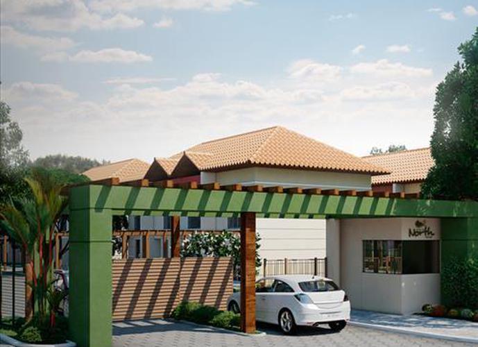 Residencial North Vilage - Casa em Condomínio a Venda no bairro Vargem Grande - Florianopolis, SC - Ref: EP23