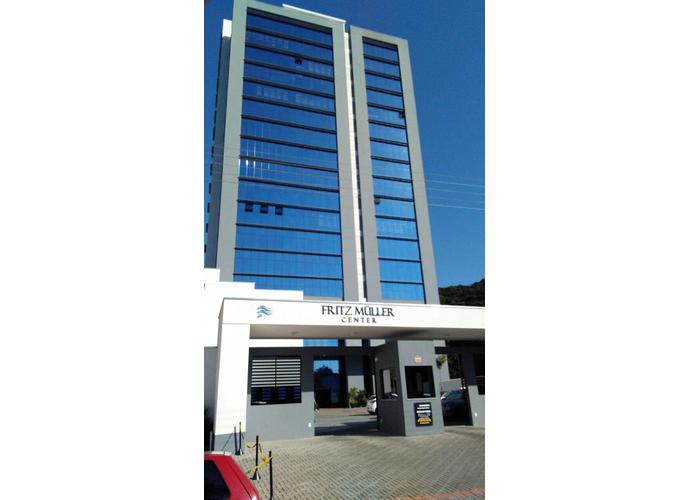 Fritz Muller Center - Sala Comercial para Aluguel no bairro Garcia - Blumenau, SC - Ref: 307