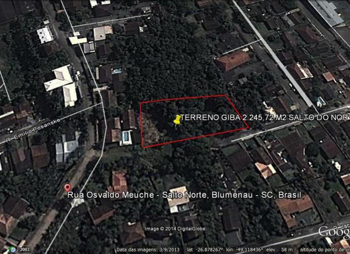 Terreno - Terreno a Venda no bairro Salto Do Norte - Blumenau, SC - Ref: 82