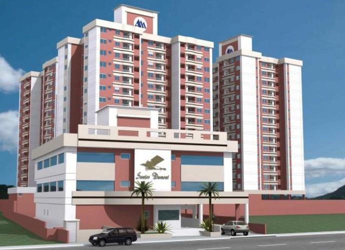 Apartamento a Venda no bairro Barreiros - São José, SC - Ref: MH123