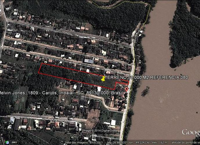 Terreno - Terreno a Venda no bairro Tapajós - Indaial, SC - Ref: 80