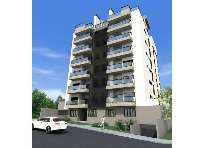 Apartamento 02 Dormitórios c/ Suíte - Apartamento a Venda no bairro São Cristóvão - Lajeado, RS - Ref: 183