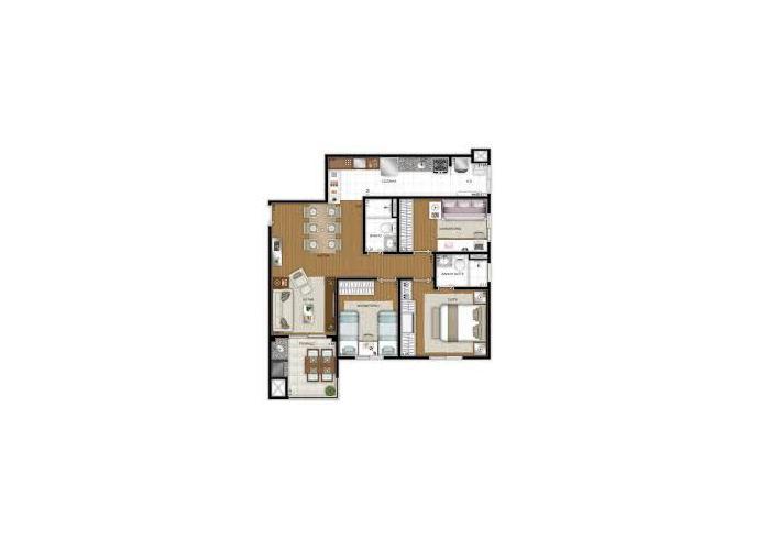 FLEX JUNDIAÍ apto 3 quartos JD Ana Maria - Apartamento a Venda no bairro Jardim Flórida - Jundiaí, SP - Ref: MRI82622