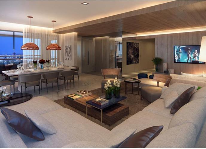 Apartamento 220m² 4 Dorms 2 Suites no Campo Belo - Apartamento Alto Padrão a Venda no bairro Campo Belo - São Paulo, SP - Ref: A-36445