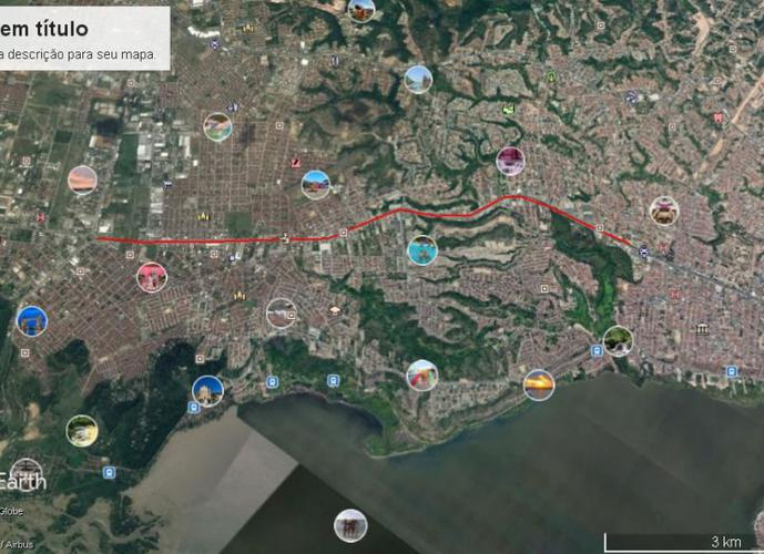 Área para comercio - Área a Venda no bairro Tabuleiro - Maceio, AL - Ref: AR001