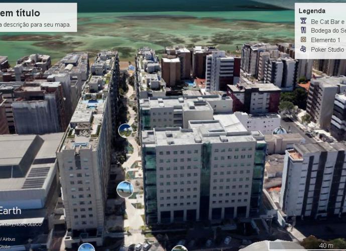 JTR - Ed. Mexico, Quarto e Sala - Apartamento a Venda no bairro Jatiuca - Maceio, AL - Ref: LR004