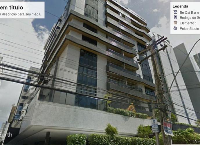 Ed. Ana Lins 03 quartos sendo 02 suítes - Apartamento Alto Padrão a Venda no bairro Ponta Verde - Maceio, AL - Ref: LR005