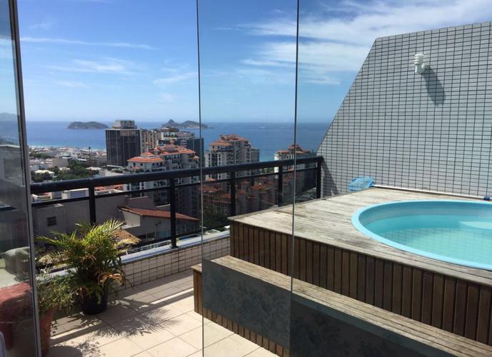 COBERTURA MARAVILHOSA COM DIFERENCIAL - Cobertura Duplex a Venda no bairro Barra da Tijuca - Rio de Janeiro, RJ - Ref: JASOL001