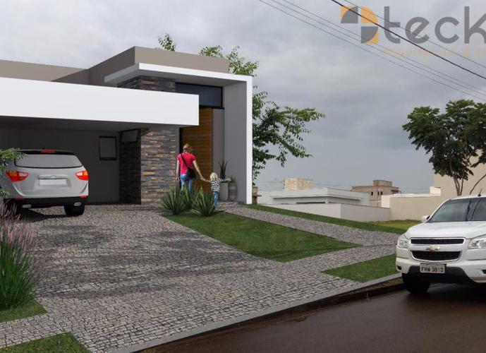 Casa Térrea à venda Condomínio Residencial Real Park Sumaré - Casa em Condomínio a Venda no bairro Residencial Real Parque Sumaré - Sumaré, SP - Ref: CO27040