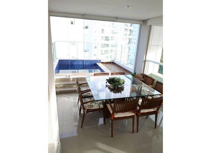 The Penthouses Tamboré - 322,40 m², 4 suítes, 5 vgs, piscina - Apartamento a Venda no bairro Tamboré - Santana de Parnaíba, SP - Ref: RE39565