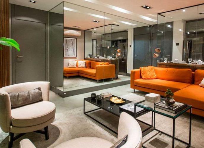 Apartamento em Obras- Quadrilatero - Itaim - Apartamento a Venda no bairro Itaim Bibi - São Paulo, SP - Ref: BE1323