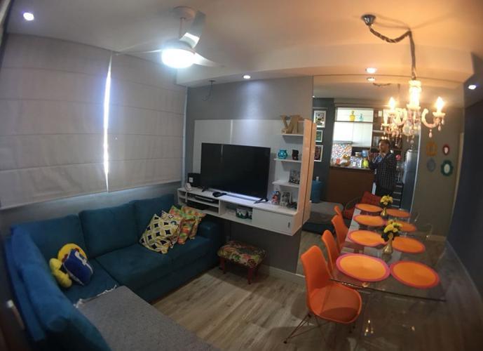 Lindo apto Condomínio Parque Rebouças - Apartamento a Venda no bairro City Ribeirão - Ribeirão Preto, SP - Ref: FA43541