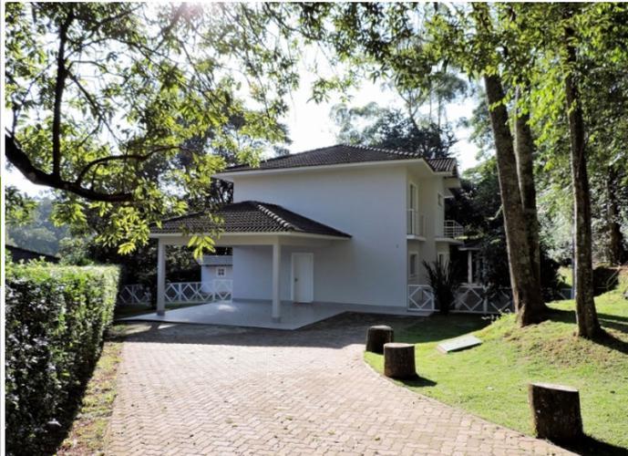 Casa em Condomínio Fechado de Alto Padrão - Casa em Condomínio a Venda no bairro Granja Viana - Cotia, SP - Ref: CAS057