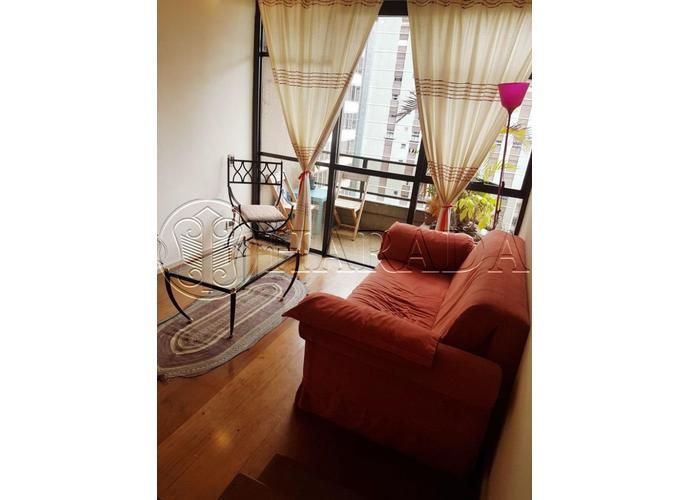 Duplex mobiliado 60 m2 c/ vaga no metrô Trianon - Apartamento Duplex para Aluguel no bairro Cerqueira Cesar - São Paulo, SP - Ref: HA273