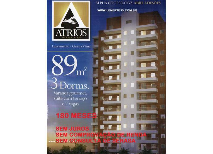 ATRIUS - Apartamento em Lançamentos no bairro Chácara Pavoeiro - Cotia, SP - Ref: APT001