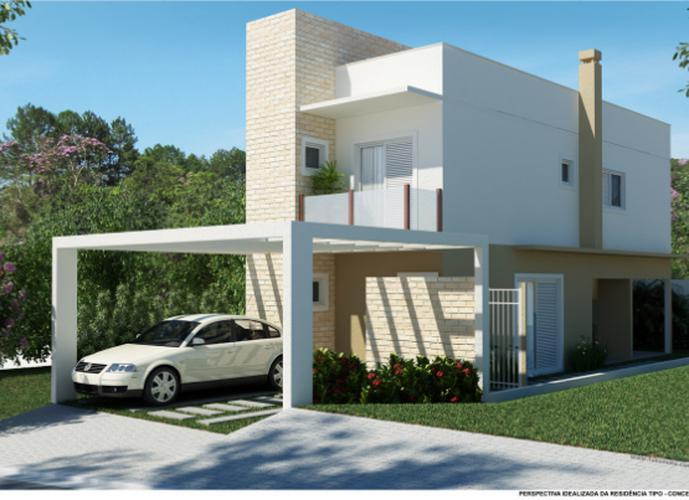PARCELA ENTRADA - Casa em Condomínio a Venda no bairro Granja Viana - Cotia, SP - Ref: CAS001