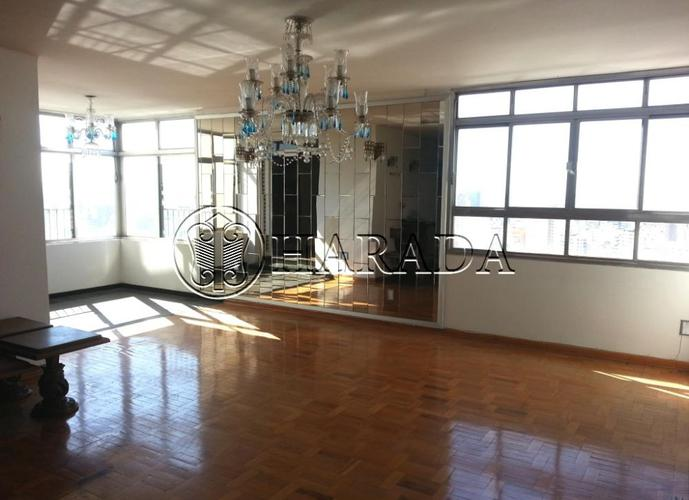 Apto clássico de 280 m2 na Bela Vista - Apartamento para Aluguel no bairro Bela Vista - São Paulo, SP - Ref: HA38A