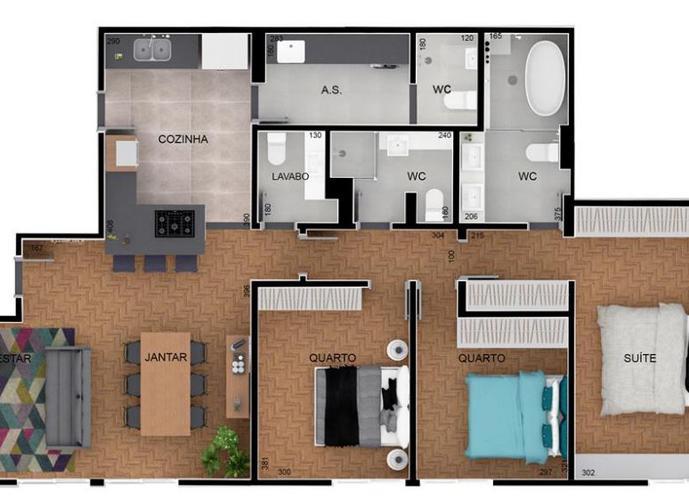 Apartamento Vila Buarque - Apartamento a Venda no bairro Vila Buarque - São Paulo, SP - Ref: BE1398
