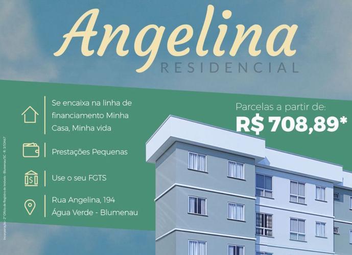 Residencial Angelina - Apartamento a Venda no bairro Água Verde - Blumenau, SC - Ref: CO92518