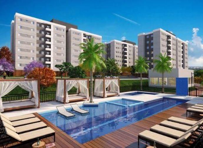 Apartamento 2 dormitórios com sacada - Minha Casa Minha Vida - Apartamento em Lançamentos no bairro Greenville - Ribeirão Preto, SP - Ref: AP1336