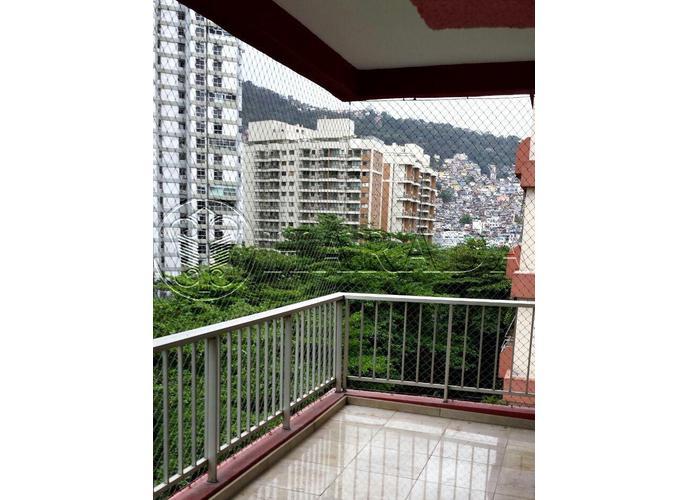 Apto 100 m2,2 dm com vaga em São Conrado - Apartamento a Venda no bairro São Conrado - Rio de Janeiro, RJ - Ref: HA233