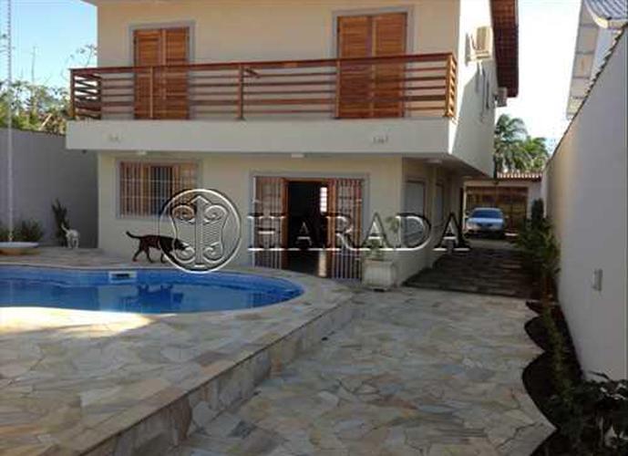 Casa na praia de 468 m2 em Bertioga, mobiliada - Sobrado a Venda no bairro Indaia - Bertioga, SP - Ref: HA202