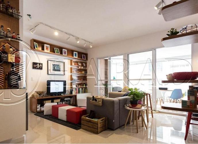 Excelente apto reformado 74 m2,2 vagas no Brooklin - Apartamento a Venda no bairro Brooklin Paulista - São Paulo, SP - Ref: HA239