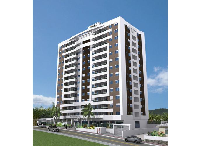 Residencial Palazzo Reale - Apartamento a Venda no bairro Barreiros - Florianópolis, SC - Ref: PI89169