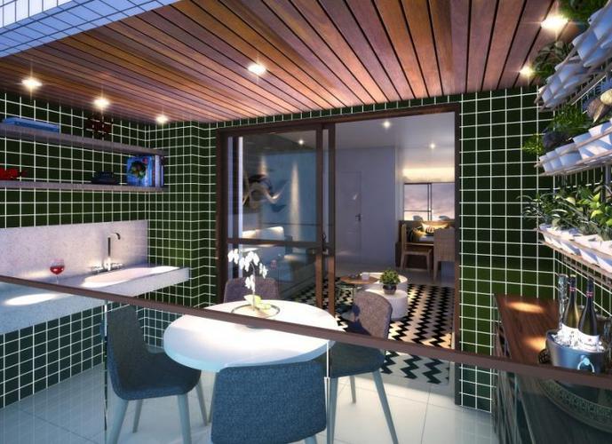 Residencial Comendador Guttenberg Brêda - Apartamento em Lançamentos no bairro Gruta - Maceio, AL - Ref: AGB3101