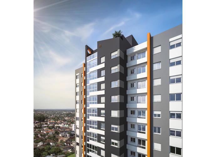 RES BLOCK - Apartamento a Venda no bairro Cruzeiro - Caxias do Sul, RS - Ref: 3S74852