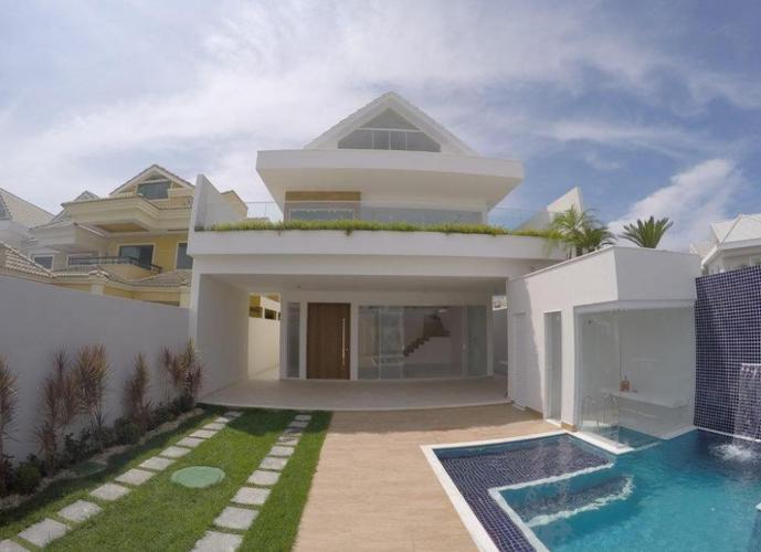 Casa no Riviera del Sol com 6 qts com Fino acabamento - Casa em Condomínio a Venda no bairro Recreio dos Bandeirantes - Rio de Janeiro, RJ - Ref: WA89985