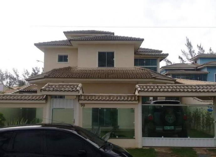Casa no Condomínio Long Beach em Cabo Frio - RJ - Casa em Condomínio a Venda no bairro Unamar - Cabo Frio, RJ - Ref: WA41837