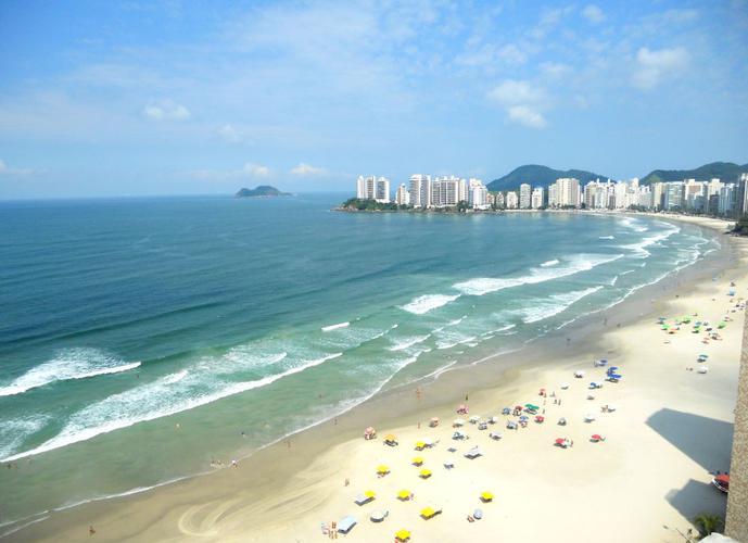 Cobertura para Temporada no bairro Pitangueiras - Guaruja, SP - Ref: DA33891