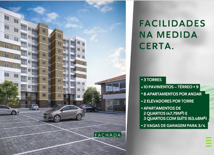 Garden Park - Apartamento a Venda no bairro Inácio Barbosa - Aracaju, SE - Ref: IN28252