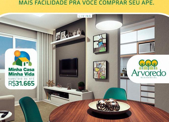 Arvoredo Residencial - Apartamento a Venda no bairro Porto Dantas - Aracaju, SE - Ref: AR45721